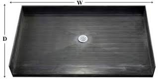 ada compliant barrier free tile ready shower pans