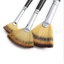 fan brush oil painting fan brush pen set wooden handle acrylic water oil painting artist