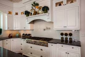 kitchens with subway tile backsplash blue pearl granite countertops bring luxury and to your