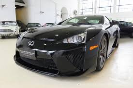 lexus coupe black 2012 lexus lfa classic throttle shop