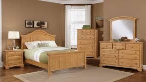Rustic Wooden Bedroom Furniture - bedroom inspiring bedroom design with brown pine wood bed frame