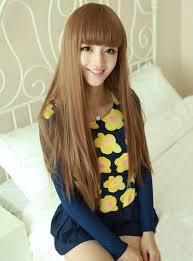 dark hair after 70 3 color stylish lady 70 80cm black light brown dark brown long