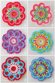 Crocheted Flowers - 781 best flor nochebuena images on pinterest crocheted flowers