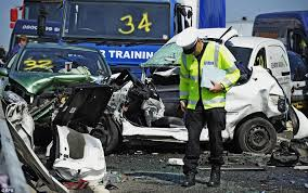 sheppey crash chaos in kent as 200 are injured in 100 vehicle