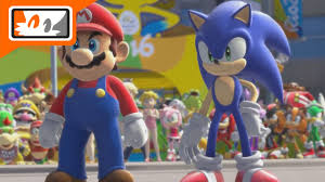 mario u0026 sonic rio 2016 olympic games wii opening