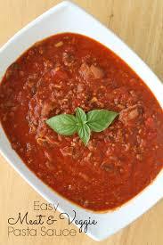 easy meat u0026 veggie pasta sauce