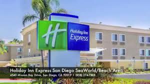 Comfort Inn Sea World Holiday Inn Express San Diego Seaworld Beach Area Youtube