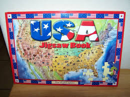 usa map jigsaw puzzle by hamilton grovely 2 45 best jigsaw puzzles images on puzzles jigsaw