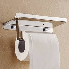 Toilet Paper Holder For Small Bathroom Creative Design Toilet Paper Holder Stainless Steel Wall Mounted