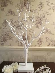 wedding wishes tree wishing tree wish tree vintage manzanita white 110 cm high