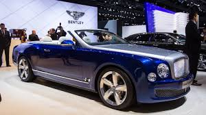 bentley concept car 2015 live from la 2015 bentley grand convertible