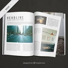free resume template layout majalah png background effects indesign magazine mock up design psd file free download