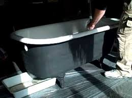 Bathtub Reconditioning Nu Look Refinishing 508 718 8253 Clawfoot Tub Start To Refin Youtube