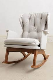 Comfortable Rocking Chairs For Nursery How To Convert An Upholstered Chair Into A Swivel Glider Hacks