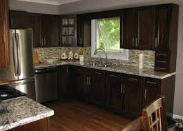 lights for kitchen cabinets dark kitchen cabinets with backsplash double white polymer waste