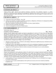 Architect Resume Samples Skills And Accomplishments Resume Examples Resume Example And