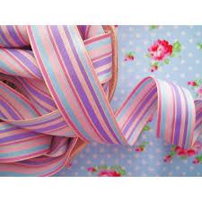 striped grosgrain ribbon pastel striped grosgrain ribbon
