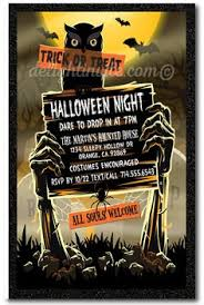 halloween party invitation diy halloween invitations
