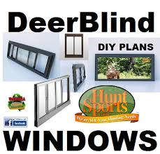 Sliding Deer Blind Windows Hunting Blind Stand Windows Aluminum Frame Oldach Parts