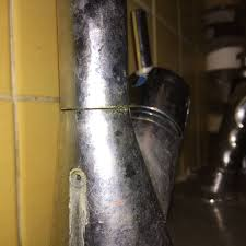 kitchen faucet hole leaks water home improvement stack