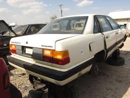i am audi 5000 junkyard find 1984 audi 5000 s with voodoo incantantion to ward