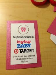 Invitation Cards For Dedication Of A Baby Stunning Target Baby Registry Cards For Invitations 25 About