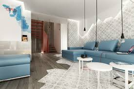 canap petit salon salle de séjour idee deco petit salon canape bleu idée déco petit