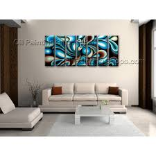 Oversized Wall Art by Extra Large Wall Art Colorful Abstract Oil Painting On Canvas