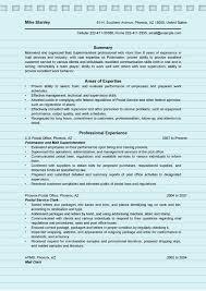 Postal Clerk Resume Sample by 4 Superintendent Resume Sample Ms Word Doc Format