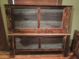 Rustic Bed Headboards by Best 20 Rustic Beds And Headboards Ideas On Pinterest