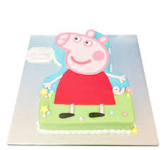 peppa pig birthday peppa pig cake birthday cakes the cake store