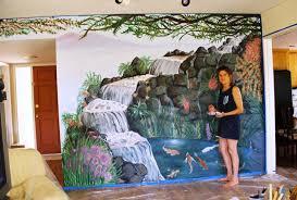 Wall Scenes by Aj Arts Nature Scene