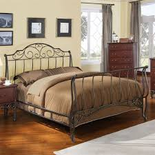 King Size Headboard And Footboard 186 Best Beds Images On Pinterest Wrought Iron Bed Furniture
