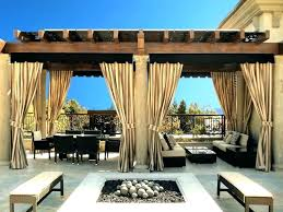 Outdoor Gazebo With Curtains Gazebo Outdoor Curtains Gazebo Outdoor Curtains Patio Home Depot