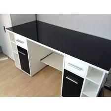 bureau noir et blanc bureau noir et blanc fabulous bureau with bureau bureau noir blanc