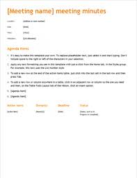 meeting minutes templates meeting minutes office templates