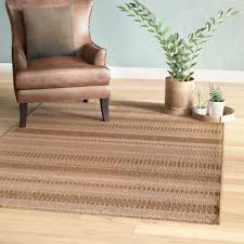Large Indoor Outdoor Area Rugs Union Rustic Annica Large Stripe Beige Indoor Outdoor Area Rug
