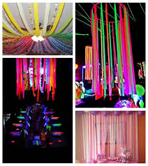 crepe paper streamers 16pcs set decorations background foil curtain fringe