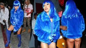 Lil Kim Halloween Costumes Karrueche Tran Flashes Lil Kim Costume