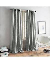 Window Curtains On Sale Incredible Deal On Dkny Urban Luster 108 Inch Back Tab Window