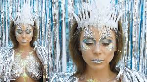 halloween makeup ideas ice queen youtube