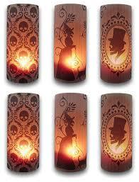 bethany lowe silhouette halloween luminaries set of 6