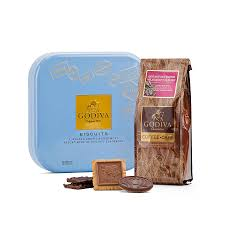 godiva coffee and biscuit gift set delivery in europe others