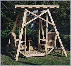 do yourself outdoor projects glider swing plan no 818