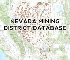 Chico State Map by Nevada Mining District Database Burgex Inc
