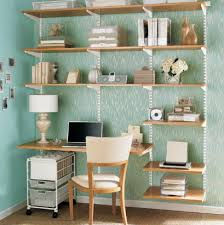 Container Store Leaning Desk Elfa Wall Mounted Shelf And Desk The Container Store Dining Room