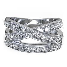 wedding rings cross images Cross 2 1 4 ctw diamond ring in 14k white gold jpg