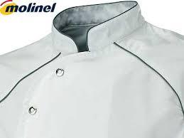 molinel cuisine vestes de cuisine homme veste cuisine brodé