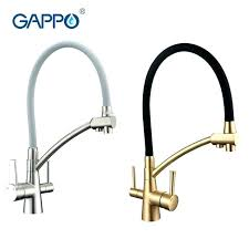 Water Filter Kitchen Faucet Kitchen Faucets With Water Filters Built In Single Handle Pull