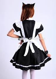 high quality black skirt dress maid costume